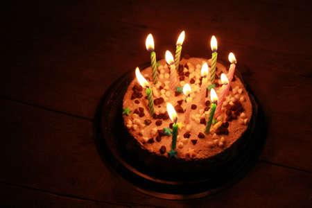 happy birthday cake: torta de cumplea�os feliz Foto de archivo