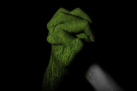 fend: mano riso doppia esposizione