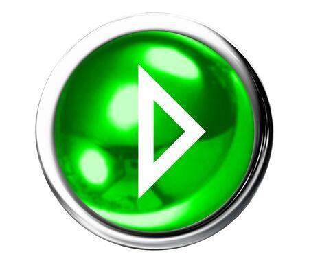 rewind icon: Green Next Icon Button Stock Photo