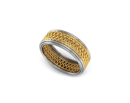 The beauty ring  Stock Photo