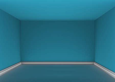 3d empty room photo