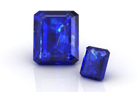 precious gem: blue sapphire