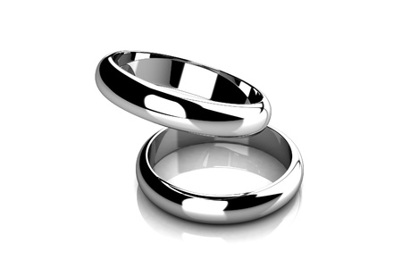 The beauty wedding ring Stock Photo - 11865759