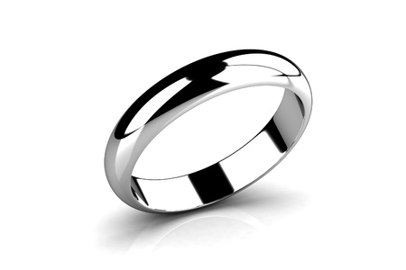 아름다움의 결혼 반지