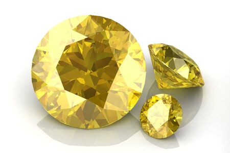 faceting: Yellow sapphire