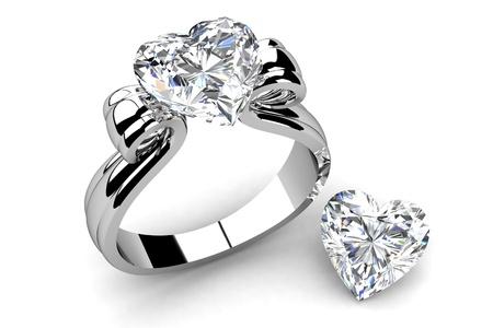 흰색 배경에 결혼 반지 스톡 콘텐츠