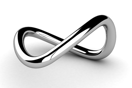 Golden Infinity Symbol  photo