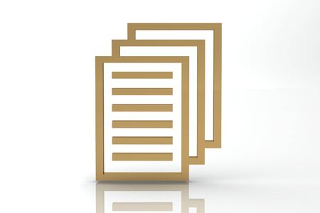 문서 파일 기호 스톡 콘텐츠