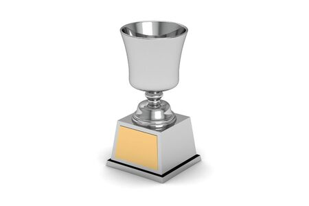 Silver Cup of the winner  photo