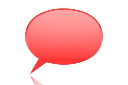 chat room: 3D Icons  Glossy Chat Box Stock Photo
