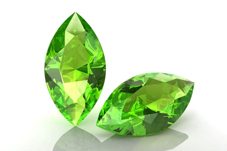 beryl: Peridot Stock Photo