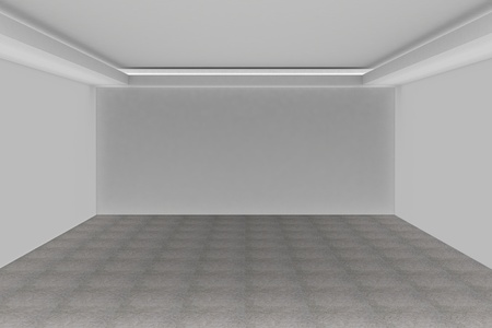 Empty white room for your interior design photo