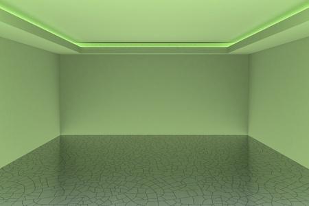 Empty white room for your interior design
