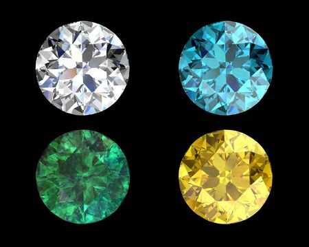 gemstones collection Stock Photo - 13111222