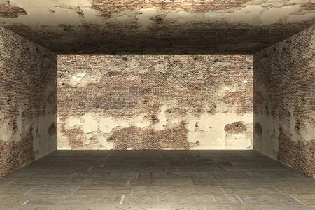 Abstract empty room 3d render Stock Photo - 13111221