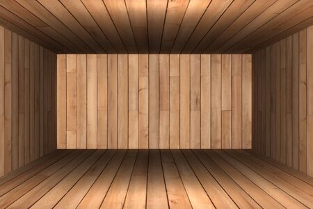 Abstract empty room 3d render photo