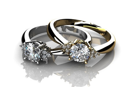 the beauty wedding ring Stock Photo - 13111199