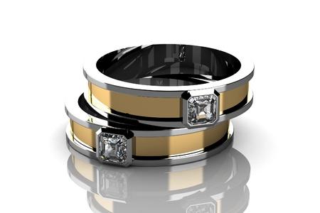 bracelet: wedding ring