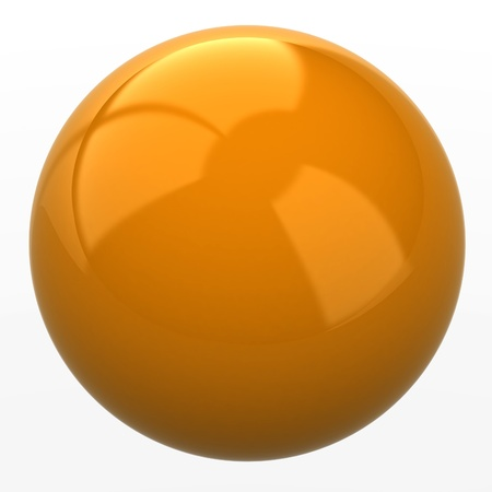 orenge sphere photo