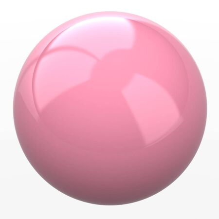 pink sphere photo