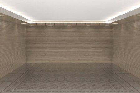 Empty white room for your interior design photo