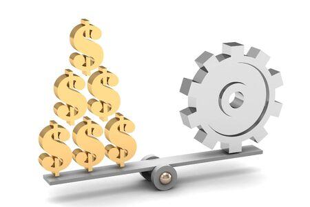 Balance business concept photo