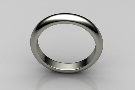 The beauty wedding ring Stock Photo