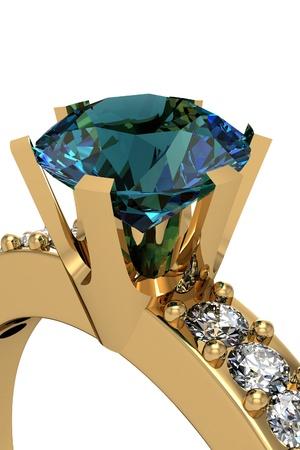 The beauty wedding ring Stock Photo - 13548332