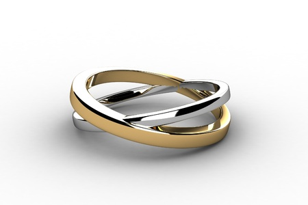 아름다움의 결혼 반지 스톡 콘텐츠 - 13660244