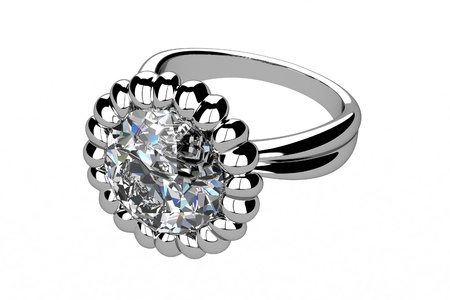 The beauty wedding ring Stock Photo - 13660262