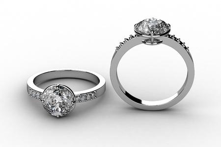 The beauty wedding ring Stock Photo - 13660257