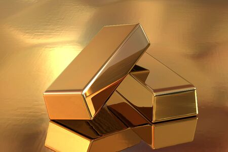 Gold Bar Stock Photo - 13775090