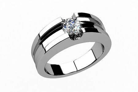 The beauty wedding ring Imagens