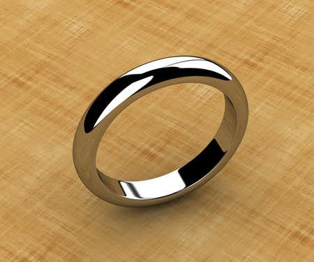 The beauty wedding ring Stock Photo - 14035822