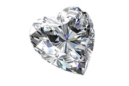 diamond jewel on white background Stock Photo - 14207257