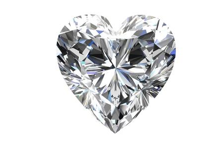 queen diamonds: diamante con su sfondo bianco