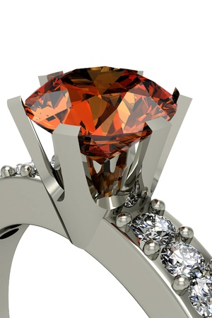 zircon: the beauty wedding ring