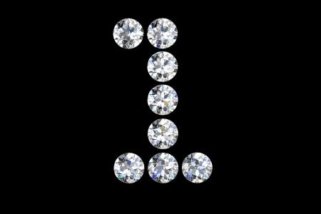 Diamond number one photo