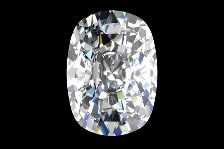 diamond jewel on black background Stock Photo - 14556561
