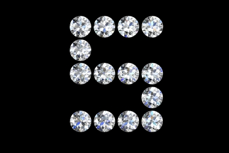 Diamond number five photo