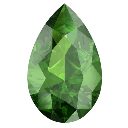 tsavorite: Peridot Stock Photo