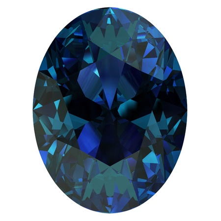 zircon: alexandrite Stock Photo