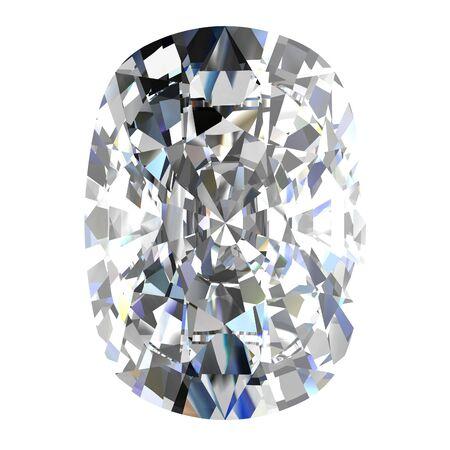 diamond jewel on white background Stock Photo - 14671835