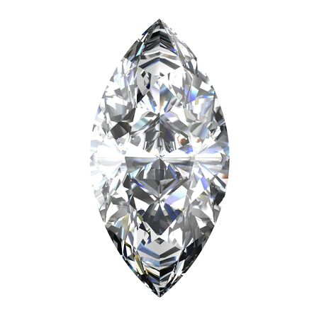 diamond jewel on white background Stock Photo - 14671831