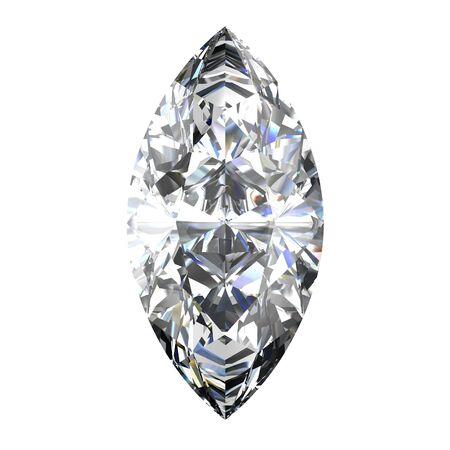diamond jewel on white background Stock Photo - 14671831