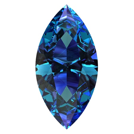 tanzanite: alexandrite Stock Photo