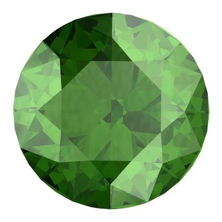 green tourmaline: Peridot Stock Photo