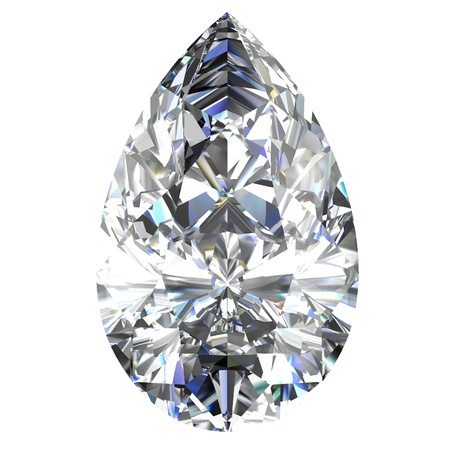 diamond jewel on white background Stock Photo - 14671864