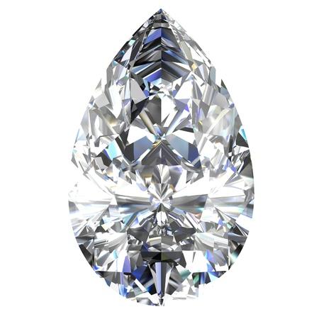 diamond jewel on white background Stock Photo - 14671864