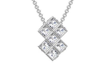 The beauty diamond pendant photo